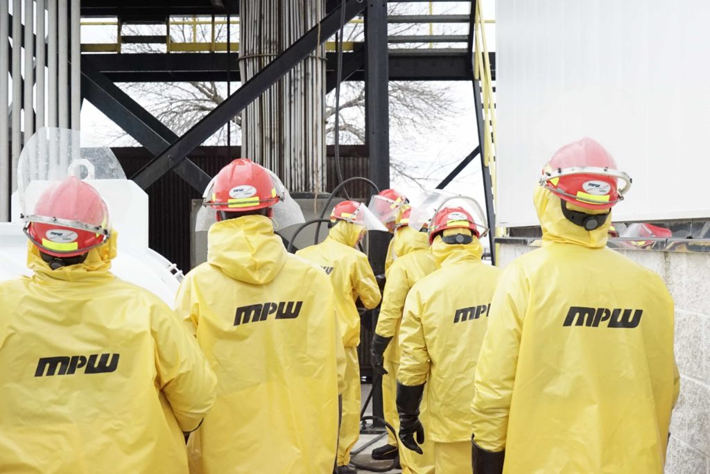 MPW Staff Safety Preparations