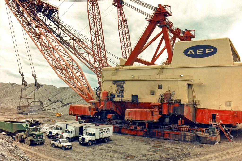 MPW cleans AEP Big Muskie.