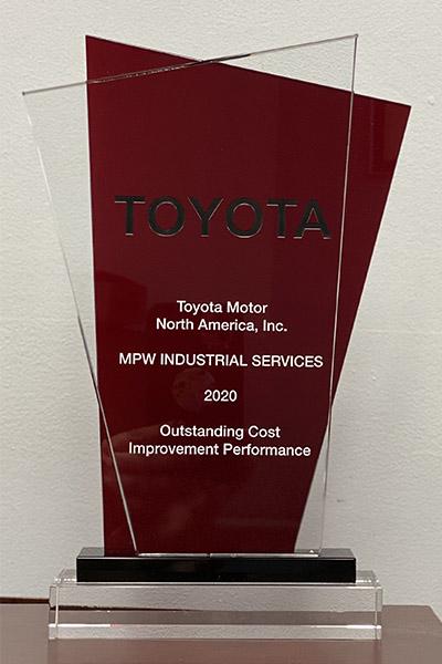 Toyota Award
